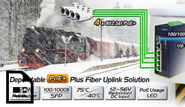 IPC2U präsentiert den IGS-614HPT #Industrie #Ethernet Switch