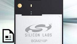 Bluetooth 5 mit einer Reichweite von bis zu 1,8km - BGM210P