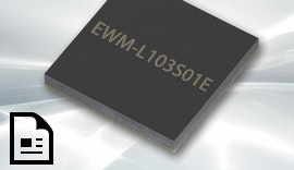 LoRa SiP Modul mit Bluetooth EWM-L103S01E