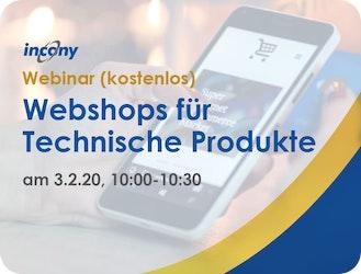 3.2., Webinar (gratis): Webshop Software für Technische Produkte