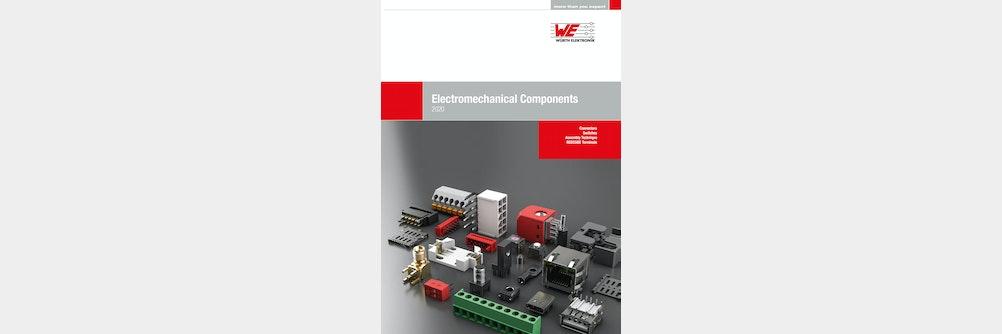 Würth Elektronik veröffentlicht Katalog der Elektromechanischen Bauelemente