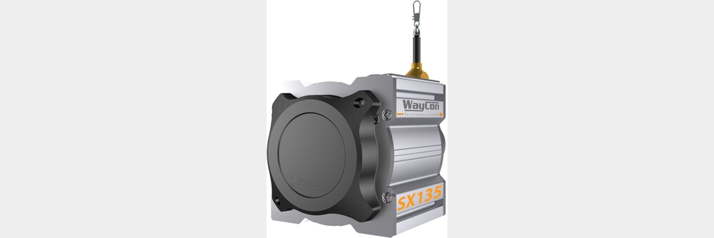 Seilzugsensor SX135 mit Schnappschutz