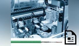 Schleppkettentaugliche Single-Pair-Ethernet Leitung