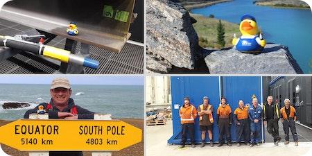 SLF Ente geht auf Weltreise – Teil 1 Einsatz in Neuseeland