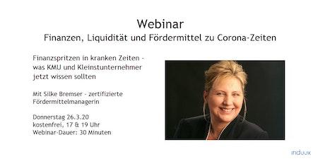 Webinar: Finanzen, Liquidität und Fördermittel zu Corona-Zeiten