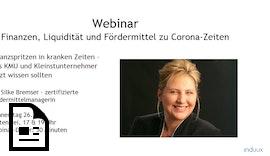 #Webinar: Finanzen, Liquidität und #Fördermittel zu #Corona-Zeiten