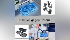 Mit 3DDruck gegen Corona covid19