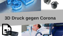 Mit #3DDruck gegen #Corona #covid19