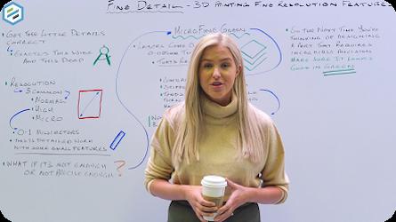 Protolabs Insight Video: Feines Detail - Funktionen für den 3DDruck mit feiner Auflösung