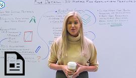 Protolabs Insight Video: Feines Detail - Funktionen für den #3DDruck mit feiner Auflösung