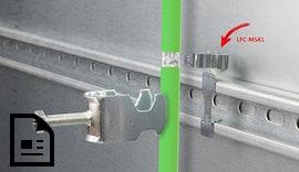 Neue #EMV #Schirmklammern zur Montage auf C-Schienen