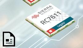 4G LTE Cat-1 M2M Konnektivität mit 3G Fallback:  AirPrime RC7620-1 und RC7611-1 IoT Modul