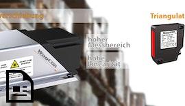 Neu: #Laser #Distanzsensor LDI - Große Entfernungen zuverlässig Messen