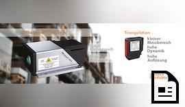 Neu: Laser Distanzsensor LDI - Große Entfernungen zuverlässig Messen