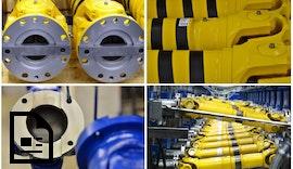 Produktion und Reparatur von #Industrie #Gelenkwellen am Standort Essen.