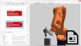 Roboteranwendungen herstellerunabhängig programmieren & simulieren