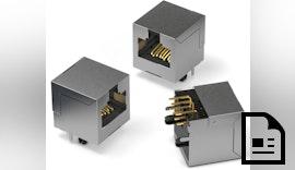 Modularbuchsen für schnelles Ethernet