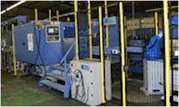 Verkettete #Automatisierung einer #Drehmaschine und Räummaschine