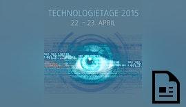 Scheugenpflug Technologietage 2015 - Anmeldung gestartet