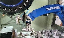 Verkettete Magnesiumbearbeitung mit #Roboter & #Palettiersystem zuverlässig automatisiert