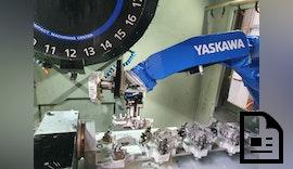 Verkettete Magnesiumbearbeitung mit Roboter & Palettiersystem zuverlässig automatisiert
