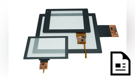 Abkündigung von SCAP- und PCAP-Touchscreens Touchscreens weiterhin lieferbar