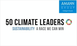 A RACE WE CAN WIN: UN announce AMANN as one of the TOP 50 Sustainability & Climate Leader