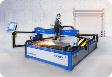 SmartBlade: die kompakte Plasmaschneidmaschine. Präzision im Sparformat