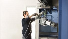 NORD nutzt umweltschonende High-Solid-Lacke