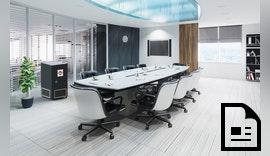 AmbiCube und AmbiWall verringern das Ansteckungsrisiko in Büros, Besprechungsräumen, Kantinen