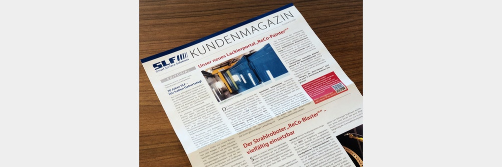 Das SLF Kundenmagazin 2020