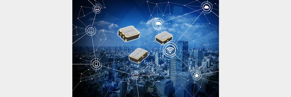 IQD stellt neue Oszillatoren mit variabler Eingangsspannung vor
