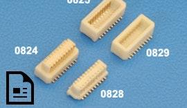 Steckverbinder Rastermaß 0,80 mm bis 10,0 mm