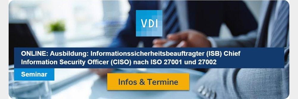 Online Seminar IT-Sicherheitsbeauftragter (ISB)
