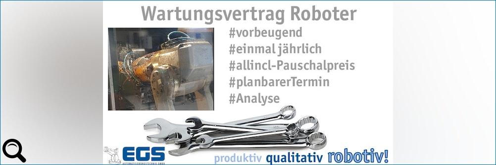 #Wartungsvertrag für #Industrieroboter spart Instandhaltungskosten