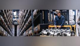 Über 5.000 einbaufertige Gelenkwellen / Kardanwellen sowie 20.000 Gelenkwellen Ersatzteile am Standort in Neu-Ulm bei der Welte-Group