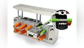 Neue teilbare EMV Kabeleinführung von icotek