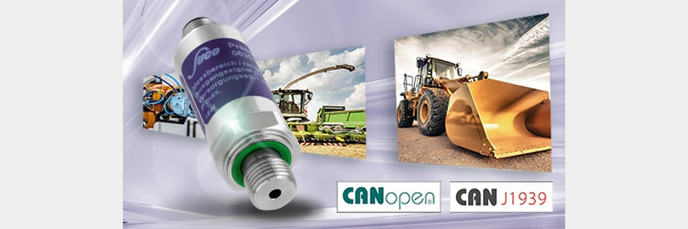 CAN BUS-Transmitter 🔗 CANopen® / CAN J1939