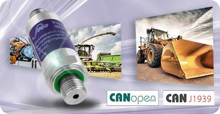 #Drucktransmitter 🔗 CANopen® / #CAN J1939