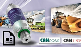 #Drucktransmitter CANopen® / #CAN J1939