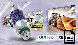 Drucktransmitter 🔗 CANopen® / CAN J1939