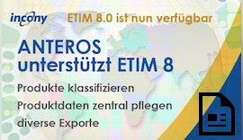 ANTEROS unterstützt ETIM8