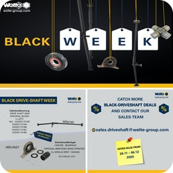 WelteGroup Black-Driveshaft Week bis zum 06.12