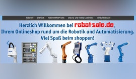 Industrieroboter und Roboterperipherie online shoppen robotsale.de Aktionscode