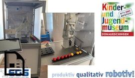 Umbau der Roboterzelle im Kinder- und Jugendmuseum Donaueschingen