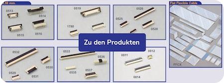 Foliensteckverbinder ⚙️ FFC / FPC Steckverbinder