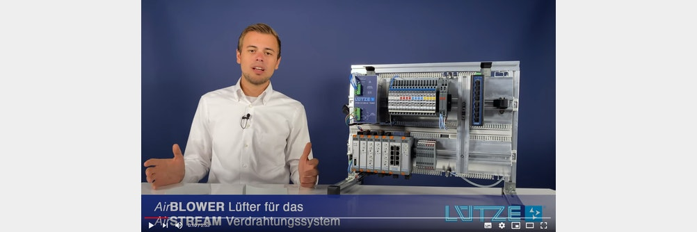LÜTZE Videoblog Folge 5 - AirBLOWER Lüfter für ein gutes Schaltschrankklima