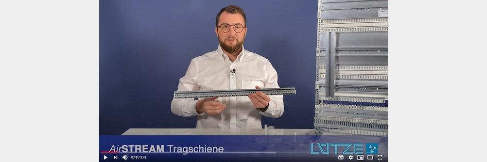 LÜTZE Video Blog Folge 10 - AirSTREAM neue Tragschiene D