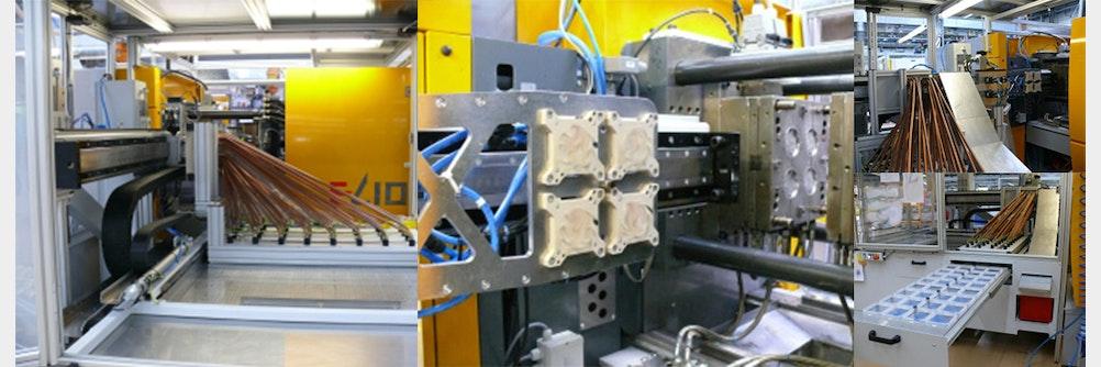 High-Speed-Entnahme ⏱ und Qualitätskontrolle von Dünnwandspritzgußteilen