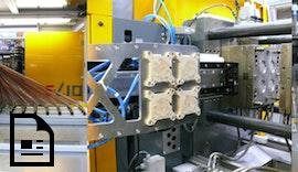 High-Speed-Entnahme und #Qualitätskontrolle von #Dünnwandspritzgußteilen